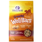 View Image 5 of Wellness Grain-Free Wellbars Crunchy Dog Treats - Yogurt, Apples & Bananas