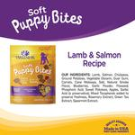 View Image 3 of Wellness Natural Grain-Free Soft Puppy Bites Treats - Lamb & Salmon