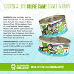 View Image 4 of Weruva BFF OMG! Selfie Cam Wet Cat Food - Chicken & Lamb Dinner in Gravy