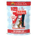 View Image 1 of Weruva Dogs in the Kitchen Wet Dog Food Pouch - The Double Dip