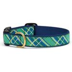 View Image 1 of Kelly Plaid Dog Collar by Up Country