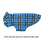 View Image 4 of Whistler Winter Dog Coat - Blue Tartan