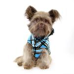 View Image 2 of Whistler Winter Dog Coat - Blue Tartan