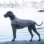 View Image 7 of Whistler Winter Dog Coat - Tan Tartan