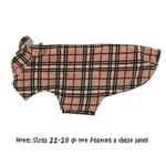 View Image 5 of Whistler Winter Dog Coat - Tan Tartan