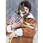 View Image 6 of Whistler Winter Dog Coat - Tan Tartan
