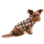 View Image 3 of Whistler Winter Dog Coat - Tan Tartan