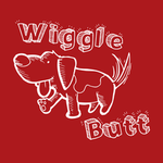 View Image 2 of Wiggle Butt Dog Hoodie - Red