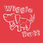 View Image 2 of Wiggle Butt Dog Shirt - Red