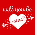 View Image 2 of Will You Be Mine? Dog Shirt - Red