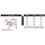View Image 4 of Wind Parka Dog Coat by Gooby - Red