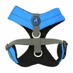 View Image 2 of Gooby Wind Parka Dog Harness - Blue