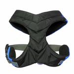 View Image 3 of Gooby Wind Parka Dog Harness - Blue