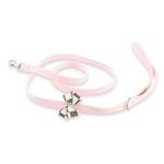 View Image 1 of Windsor Check Nouveau Bow Dog Leash by Susan Lanci - Puppy Pink