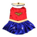 View Image 1 of Wonder Woman Dog Halloween Costume