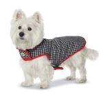 View Image 3 of Houndstooth Fleece-Lined Dog Coat by Up Country