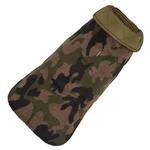View Image 1 of Camo Quilted Reversible Dog Coat by Up Country