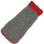 View Image 1 of Houndstooth Fleece-Lined Dog Coat by Up Country