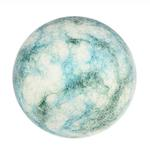 View Image 1 of Wooly Wonkz Woodland Dog Toy - Aqua Stone Ball