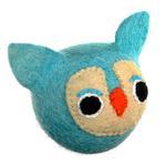 View Image 1 of Wooly Wonkz Woodland Dog Toy - Owl