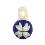 View Image 1 of Wooly Wonkz Holiday Ball Dog Toy - Ornament
