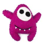 View Image 1 of Wooly Wonkz Monsters Cat Toy - Betsy