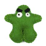 View Image 1 of Wooly Wonkz Monsters Cat Toy - Robert