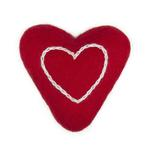View Image 1 of Wooly Wonkz Valentine Cat Toy - Lil Heart