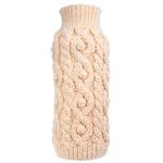 View Image 1 of Worthy Dog Fisherman Dog Sweater - Cream
