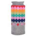 View Image 1 of Worthy Dog Fairisle Dog Sweater - Argyle