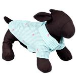 View Image 3 of Worthy Dog Gingham Flamingos Dog Shirt