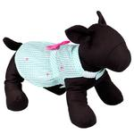 View Image 3 of Worthy Dog Gingham Flamingos Dog Dress