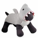 View Image 1 of Worthy Dog Jimmy the Shark Dog Hoodie
