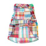 View Image 2 of Worthy Dog Madras Bright Dog Dress