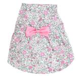 View Image 1 of Worthy Dog Pink Floral Dog Dress