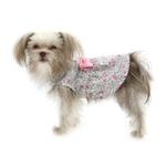 View Image 3 of Worthy Dog Pink Floral Dog Dress