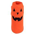 View Image 1 of Worthy Dog Pumpkin Face Printed Dog Tank
