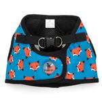 View Image 1 of Worthy Dog Sidekick Foxy Printed Dog Harness