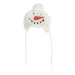 View Image 1 of Worthy Dog Snowman Dog Hat