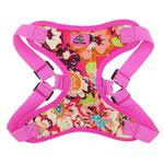 View Image 2 of Wrap and Snap Choke Free Dog Harness by Doggie Design - Aruba Raspberry