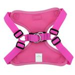 View Image 3 of Wrap and Snap Choke Free Dog Harness by Doggie Design - Aruba Raspberry