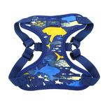 View Image 3 of Wrap and Snap Choke Free Dog Harness by Doggie Design - Island Sharks