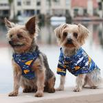 View Image 2 of Wrap and Snap Choke Free Dog Harness by Doggie Design - Island Sharks