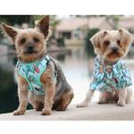 View Image 2 of Wrap and Snap Choke Free Dog Harness by Doggie Design - Surfboards and Palms