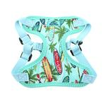 View Image 3 of Wrap and Snap Choke Free Dog Harness by Doggie Design - Surfboards and Palms