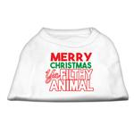 View Image 1 of Ya Filthy Animal Dog Shirt - White