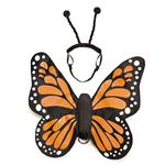 View Image 2 of Zack and Zoey Butterfly Glow Wings Dog Harness Costume