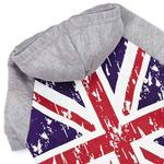 View Image 2 of Zack and Zoey Distressed-Look British Flag Dog Hoodie