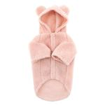 View Image 2 of Zack and Zoey Elements Cuddle Bear Dog Jacket - Pink