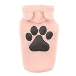 View Image 1 of Zack and Zoey Elements Cuddle Bear Dog Jacket - Pink